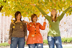 αδελφές τρία στοκ εικόνες