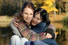 αδελφές φίλων Στοκ Φωτογραφία