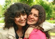 αδελφές στοκ εικόνες
