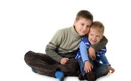αδελφοί δύο Στοκ εικόνες με δικαίωμα ελεύθερης χρήσης