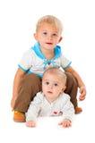 αδελφοί δύο Στοκ Εικόνα