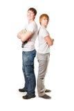 αδελφοί δύο Στοκ φωτογραφία με δικαίωμα ελεύθερης χρήσης