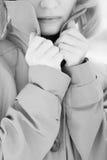 αδιάβροχο κοριτσιών Στοκ Εικόνες