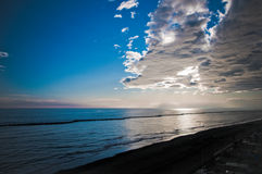αδριατική αυγή Στοκ Φωτογραφίες