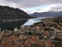 αδριατική θάλασσα Μαυροβούνιο παλαιά πόλη kotor στοκ εικόνες με δικαίωμα ελεύθερης χρήσης