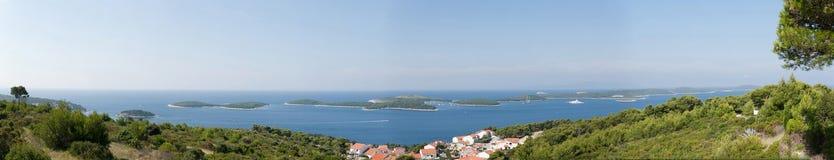 αδριατικό νησί Στοκ Εικόνες