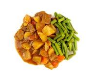 Αδύνατη γεύση όρεξης κουζίνας κρέατος Στοκ φωτογραφία με δικαίωμα ελεύθερης χρήσης
