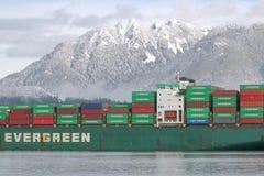 Αειθαλής λιμένας του Βανκούβερ φύλλων σκαφών στοκ φωτογραφία με δικαίωμα ελεύθερης χρήσης