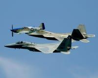 αεριωθούμενα αεροπλάνα στοκ φωτογραφία