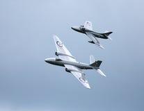 Αεριωθούμενα αεροπλάνα κυνηγών και της Καμπέρρα πωλητών PR9 Στοκ Φωτογραφίες