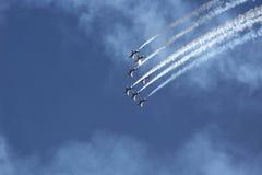 Αεριωθούμενα αεροπλάνα ναυτικού Στοκ Εικόνες