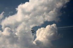 αεριωθούμενα αεροπλάνα Στοκ Εικόνα