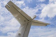 Αεριωθούμενα οπίσθια φτερά Στοκ εικόνες με δικαίωμα ελεύθερης χρήσης