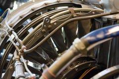 Αεριωθούμενη μηχανή μέσα Στοκ φωτογραφία με δικαίωμα ελεύθερης χρήσης