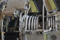 Αεριωθούμενη μηχανή μέσα Στοκ Φωτογραφίες