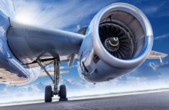 Αεριωθούμενη μηχανή Στοκ Φωτογραφία