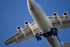 αεριωθούμενη προσγείωση Στοκ εικόνες με δικαίωμα ελεύθερης χρήσης
