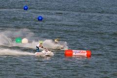 Αεριωθούμενος ανταγωνισμός σκι Στοκ εικόνα με δικαίωμα ελεύθερης χρήσης