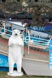 Αεριωθούμενος δίκαιος επίγειος γύρος πάγου στοκ φωτογραφία με δικαίωμα ελεύθερης χρήσης