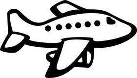 αεριωθούμενο αεροπλάνο αεροσκαφών Στοκ φωτογραφία με δικαίωμα ελεύθερης χρήσης