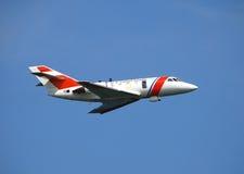 αεριωθούμενο αεροπλάνο ακτοφυλακής στοκ φωτογραφίες με δικαίωμα ελεύθερης χρήσης