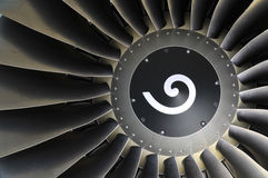 αεριωθούμενο αεροπλάνο μηχανών λεπτομέρειας Στοκ Εικόνες