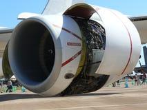 αεριωθούμενο αεροπλάνο μηχανών Στοκ Φωτογραφίες