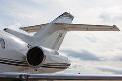 αεριωθούμενο αεροπλάνο μηχανών Στοκ φωτογραφία με δικαίωμα ελεύθερης χρήσης