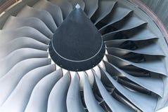 αεριωθούμενο αεροπλάνο μηχανών Στοκ φωτογραφίες με δικαίωμα ελεύθερης χρήσης