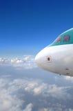 Αεριωθούμενο αεροπλάνο Στοκ Φωτογραφία