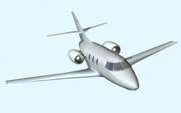 Αεριωθούμενο αεροπλάνο Απεικόνιση αποθεμάτων