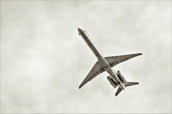 αεριωθούμενο αεροπλάνο Στοκ Φωτογραφίες