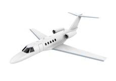 Αεριωθούμενο αεροπλάνο αεροπλάνων που απομονώνεται Στοκ Φωτογραφία
