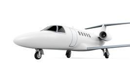 Αεριωθούμενο αεροπλάνο αεροπλάνων που απομονώνεται Στοκ φωτογραφία με δικαίωμα ελεύθερης χρήσης