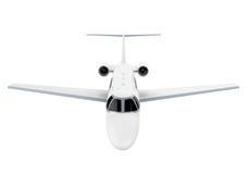 Αεριωθούμενο αεροπλάνο αεροπλάνων που απομονώνεται Στοκ εικόνα με δικαίωμα ελεύθερης χρήσης