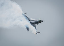 αεριωθούμενο αεροπλάνο F-16 Στοκ Εικόνα