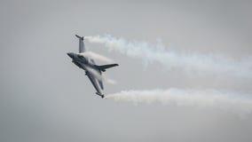 αεριωθούμενο αεροπλάνο F-16 Στοκ Φωτογραφίες