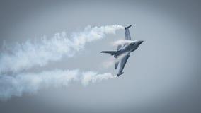 αεριωθούμενο αεροπλάνο F-16 Στοκ Φωτογραφία