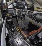 Αεριωθούμενο πιλοτήριο Στοκ φωτογραφία με δικαίωμα ελεύθερης χρήσης