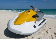 Αεριωθούμενο σκι νησιών Καραϊβικής Στοκ φωτογραφία με δικαίωμα ελεύθερης χρήσης