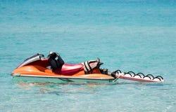 αεριωθούμενο σκι lifeguard Στοκ φωτογραφίες με δικαίωμα ελεύθερης χρήσης