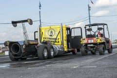 Αεριωθούμενο φορτηγό Στοκ Εικόνες