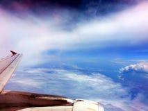Αεριωθούμενο φτερό Στοκ Φωτογραφίες