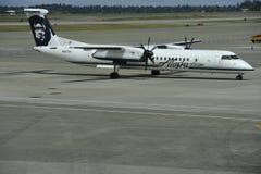 Αερογραμμές της Αλάσκας Στοκ Εικόνες