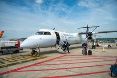 Αερογραμμές των Βρυξελλών Στοκ εικόνα με δικαίωμα ελεύθερης χρήσης