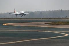 Αερογραμμές airbus A319-100 Germanwings στον αερολιμένα Στοκ φωτογραφία με δικαίωμα ελεύθερης χρήσης
