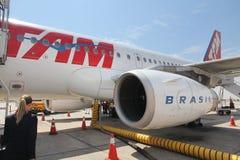 Αερογραμμές TAM στοκ φωτογραφία με δικαίωμα ελεύθερης χρήσης
