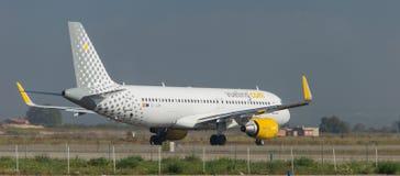 Αερογραμμές Vueling Στοκ φωτογραφίες με δικαίωμα ελεύθερης χρήσης
