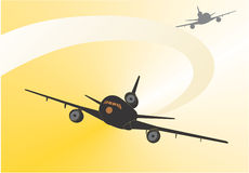 αερογραμμή Στοκ φωτογραφία με δικαίωμα ελεύθερης χρήσης