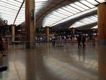 Αεροδρόμιο της Σιγκαπούρης μέσα στην εικόνα στοκ εικόνα